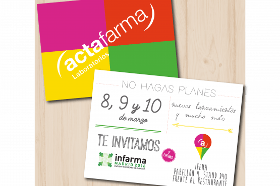 YOU ARE INVITED TO INFARMA!